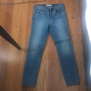 High riser crop Madewell jeans size 27
